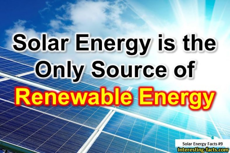 Solar Energy Facts - 10 Interesting Facts about Solar Energy